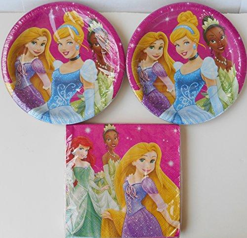 Disney Princess Dessert Set for 16