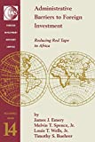 img - for Administrative Barriers to Foreign Investment: Reducing Red Tape in Africa (FIAS Occasional Papers) book / textbook / text book