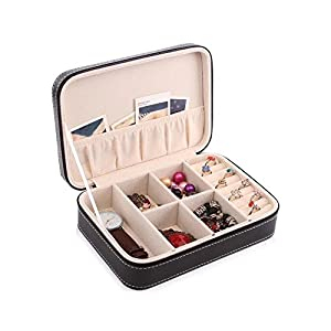 Aco&bebe House Travel Jewelry Box Organizer - Multifunctional & DIY Interior Design - Sunglass Organizer