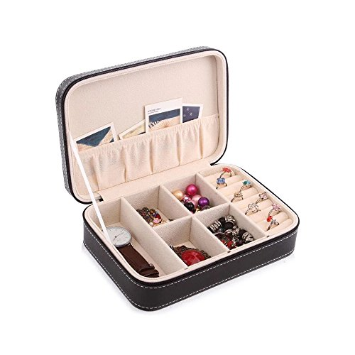 Aco&bebe House Travel Jewelry Box Organizer - Multifunctional & DIY Interior Design - Sunglass (166 Sunglasses)