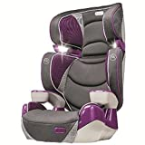Evenflo Right Fit Hollyhock Booster Car Seats, Grey/Plum