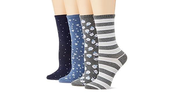 Womensecret 4482492, Calcetines para Mujer, Varios colores, One Size (Tamaño del Fabricante:U): Amazon.es: Ropa y accesorios