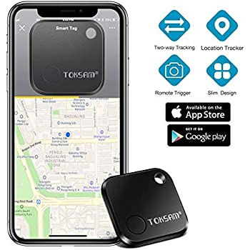 Key Finder,Phone Finder,Bluetooth Tracking Locator for Keys,Wallet,Bag,Luggage,with App Control,Smart Anti Lost Alarm,for iPhone iOS/Android ...