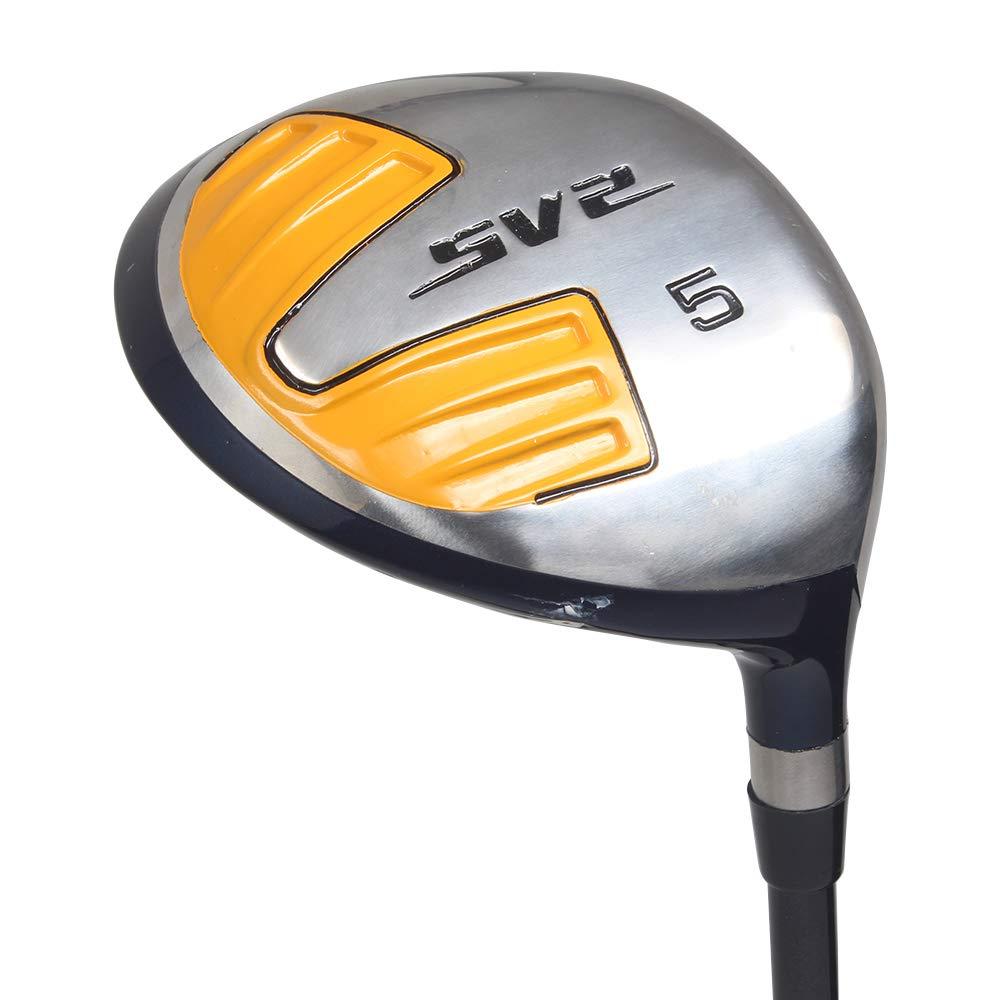 メンズ SV2-5 木製ゴルフクラブ、右利き用ウルトラフォービング スティッフ フレックス グラファイトシャフト B07HBD7DK8