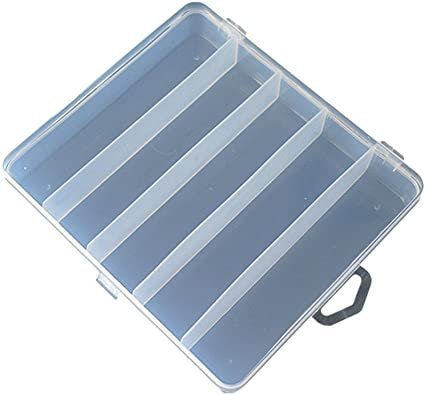 Details about  /Fishing Lure Case Fishing Tackle Box Bait Accessory Container Storage