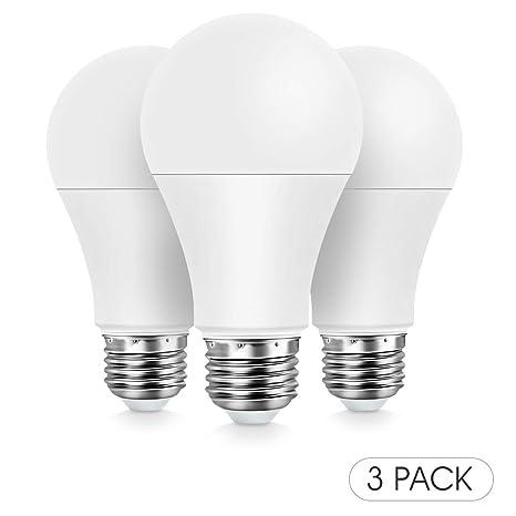 Konke Smart - Bombilla LED WiFi regulable, E27, 9 W, 800 lm,