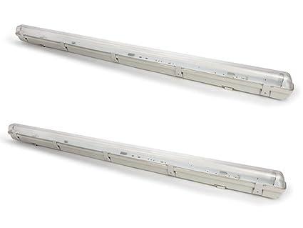 Plafoniere Per Garage : Set wasserfeste t led lampade da soffitto cm ideale per
