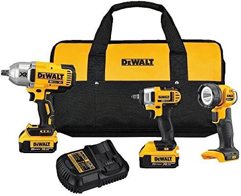 DEWALT 20V MAX Cordless Drill Combo Kit, 3-Tool DCK398M2