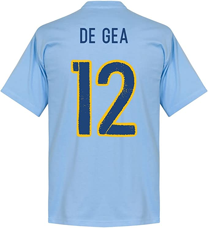 Recuperar España de GEA Equipo Camiseta – Cielo Azul Azul Celeste XXL: Amazon.es: Ropa y accesorios