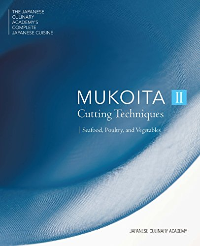 The latest volume in the definitive Japanese Culinary Academy's Complete Japanese Cuisine series offers high-level, authoritative instructions for mastering traditional Japanese knife skills.Mukoita II, Cutting Techniques: Seafood, Poultry, and Veget...