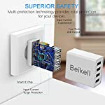 Caricatore-USB-Beikell-Caricatore-USB-da-Muro-a-4-Porte-5A-25W-con-Tecnologia-Smart-Adaptive-di-ricarica-rapida