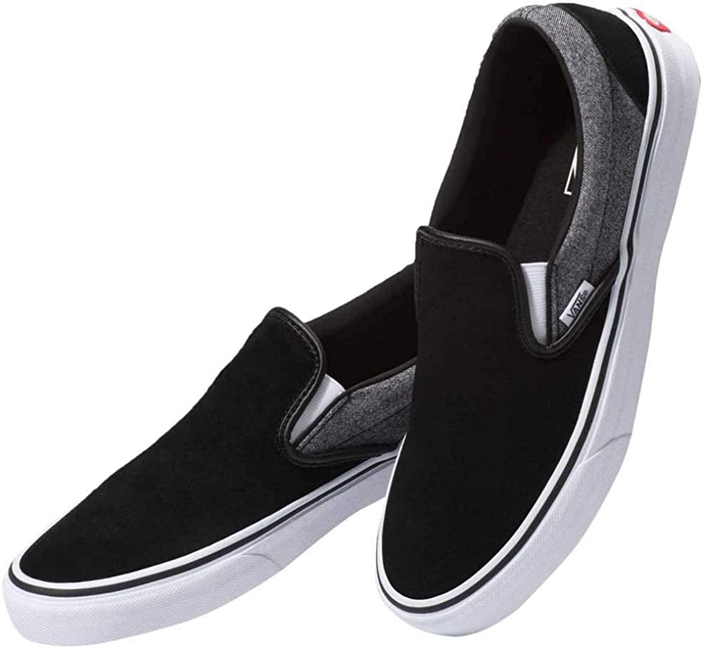 Vans Basket Classic Slip on Suiting Black
