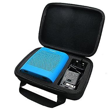 co2CREA(TM) for Bose Soundlink Color Wireless Bluetooth Speaker Semi-Hard EVA Carrying Travel Storage Case Bag (Storage Case Black)