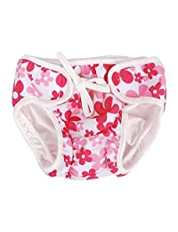 [Flowers-1] Reuseable Baby Swim Diaper Lovely Infant Swim Nappy Swimwear