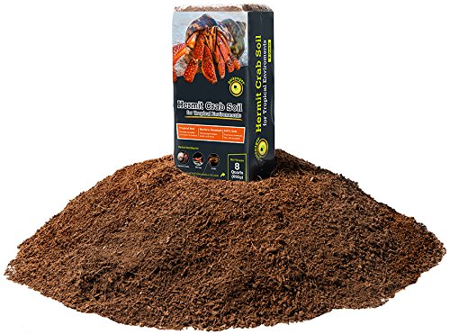 Galapagos (05000) Hermit Crab Tropicoco Soil, Natural, 8qt Compressed Brick
