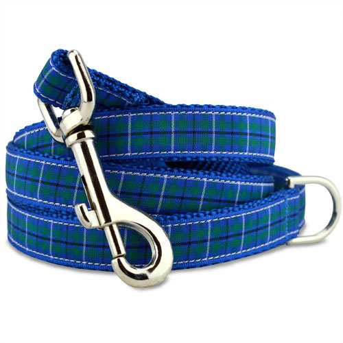 Plaid Dog Leash, Douglas Tartan