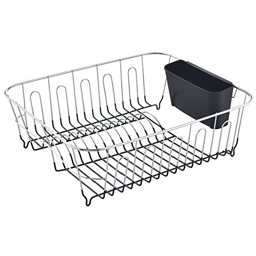 dishwashing equipment best commercial rust proof kitchen in sink side draining dish drying rack