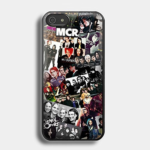 famous-music-band-my-chemical-romance-collage-for-iphone-case-iphone-5c-black