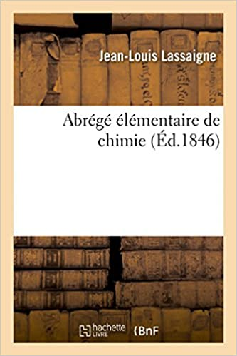 Book Abrege Elementaire de Chimie, (Sciences Sociales)