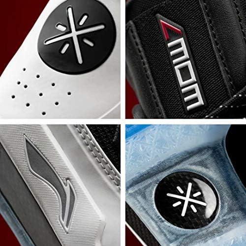 WOW 7シリーズ Wade バスケットシューズ メンズ 軽量 バッシュ 安定性 衝撃吸収 クッション 運動靴 耐久性 通気 レッド ブラック ホワイト ABAN079