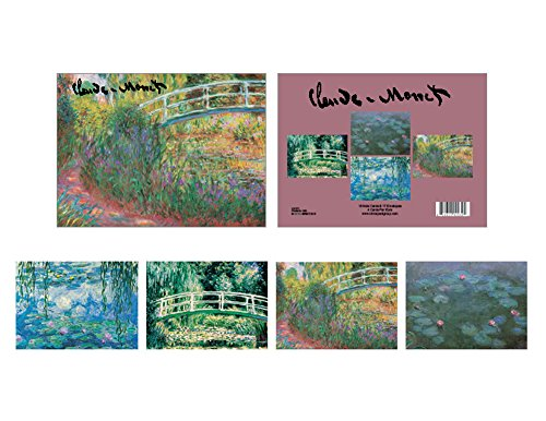 Boxed Set of 16 Fine Art Note Cards with Envelopes - Monet