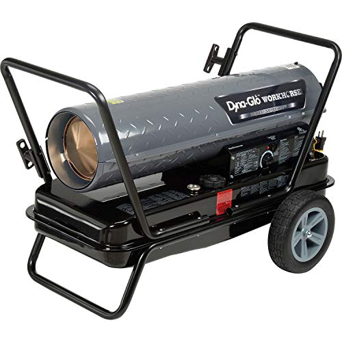 Dyna-Glo Workhorse KFA220WH, 180K or 220K BTU Kerosene Forced Air Heater, Lot of 1