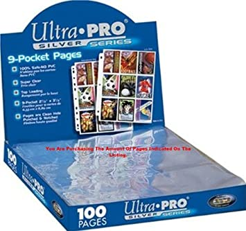 Collectible Card Games Ccg Albums & Pages Trading Card A4 Sleeves 25 Ultra Pro 9 Pocket Pages Mtg Pokemon By Ultra Pro