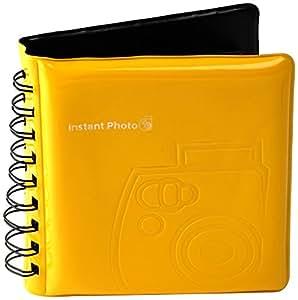 Fujifilm Instax 8 - Álbum de fotos, amarillo (importado)