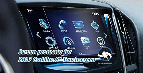Tuff Protect Anti-glare Screen Protectors For 2017 Cadillac ATS-V Coupe/Sedan Car Navigation Screen