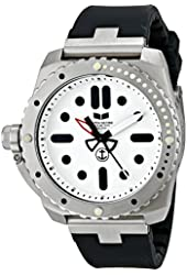 Vestal Men's RED3S01 Restrictor Diver 43 Stainless Steel Watch