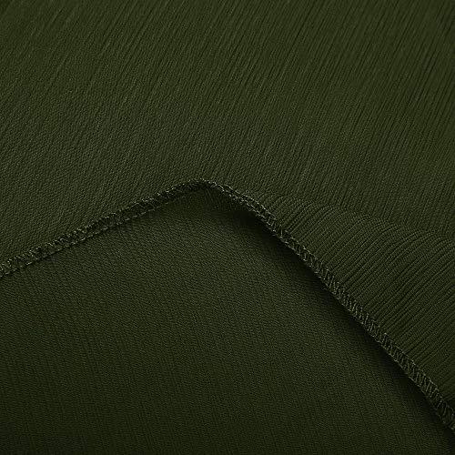 Verde Aperto Davanti Tinta A Le Estate Up Pipistrello Maniche Chiffon Bcfuda In Cover Unita Per Donna✿cardigan Donne Kimono wBvvAfTq