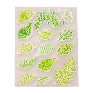 Amazon.com: Oranmay Leaf - Agenda de silicona transparente ...