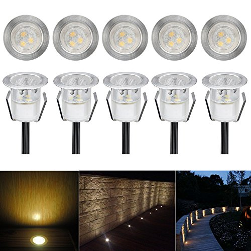 deck lights low voltage led deck light kit waterproof. Black Bedroom Furniture Sets. Home Design Ideas