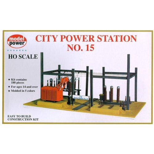 (Model Power HO Scale Building Kit - City Power Station #15)