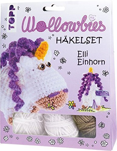 Wollowbies Häkelset Elli Einhorn