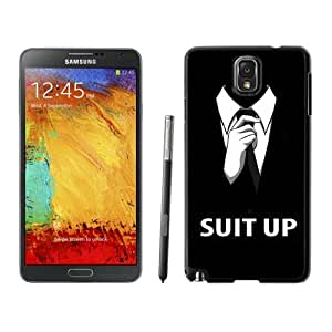 Easy Use Galaxy Note 3 Case Design with Suit Up Black Case for Samsung Galaxy Note 3 III N900 N9005