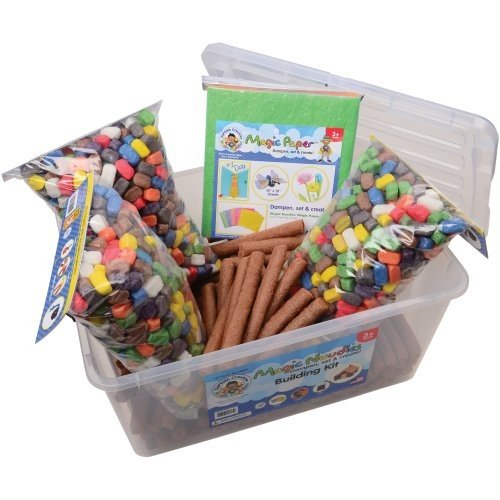 1000 Count CAPTAIN CREATIVE CC50055 Magic Nuudles Bag Stem Arts and Crafts Toy Large