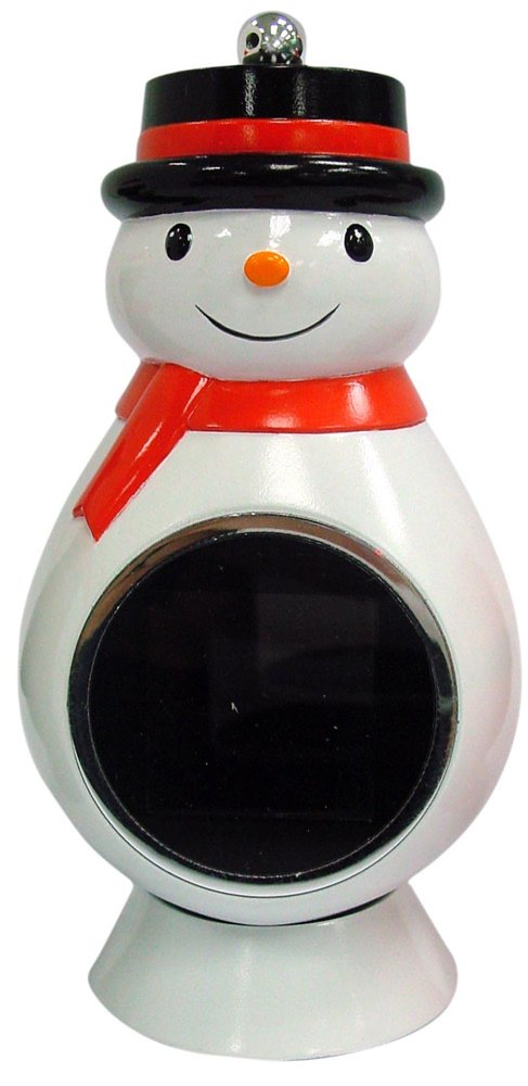 Christmas Tree - Snowman Ornament eMotion DF-EMH03 1.5-Inch Digital Photo Viewer