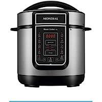 Panela de Pressão Elétrica Mondial, Master Cooker - 3L, 127V, Preto, 700W - PE-40