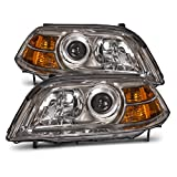 2005 acura mdx headlight assembly - Headlights Depot Replacement for Acura MDX Headlights Oe Style Headlamps Driver/Passenger Sides
