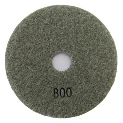 Archer USA Pad 4 in. #800 Dry Diamond Polishing Grit for Stone