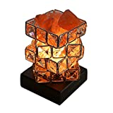 Himalayan Salt Lamp Pink Rock Salt Lamps Night Light,Greenclick Himalayan lonic Natural Salt Crystal Light Lamp With Wooden Base,Dimming Switch & UL-Listed Cord Best Gift Idea