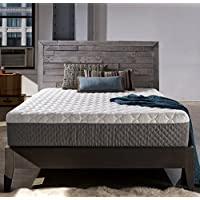 Sleep Innovations Taylor 12-inch Gel Memory Foam Mattress, ORIGINAL Cover, Made in the USA with a 20-Year Warranty - King Size