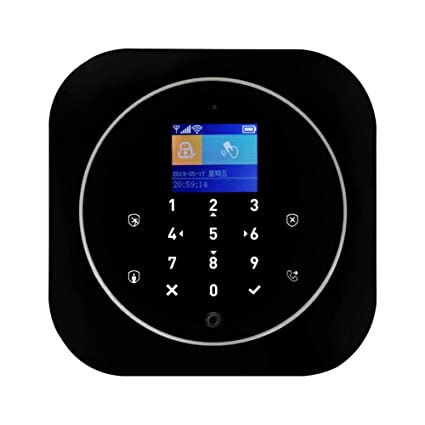 Amazon.com: ELINKMALL Home Security WiFi+GSM Alarm, Burglar ...