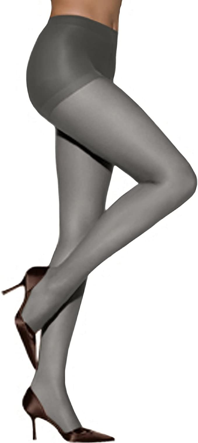 Details about  /Hanes Too Control Top Pantyhose Size AB Small Barely Black