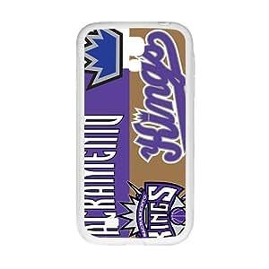 Sacramento Kings NBA White Phone Case for Samsung Galaxy S4 Case
