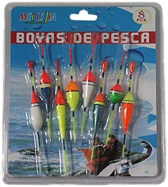 Acan Pack de 8 Boyas de Pesca de Varios tamaños: Amazon.es: Juguetes y juegos