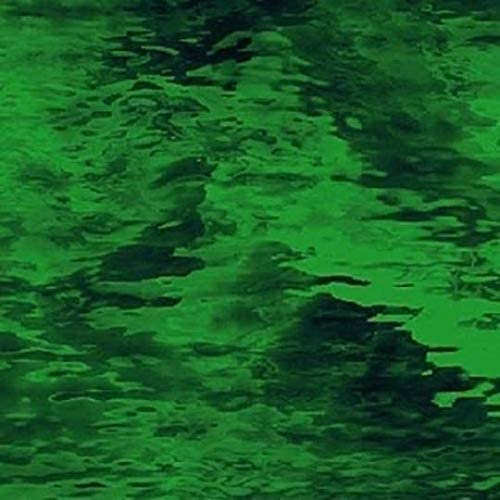 Stained Glass Sheet Emerald Green Waterglass Transparent Spectrum Mosaic