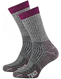 Men's Merino Wool SIN3RGI Blend Light Cushion Mini-Crew Trail Running Socks