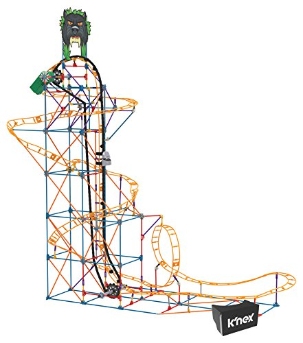 K'NEX Thrill Rides – Panther Attack Roller Coaster Building Set with Ride It! App – 690Piece – Ages 9+ Building Set from K'NEX